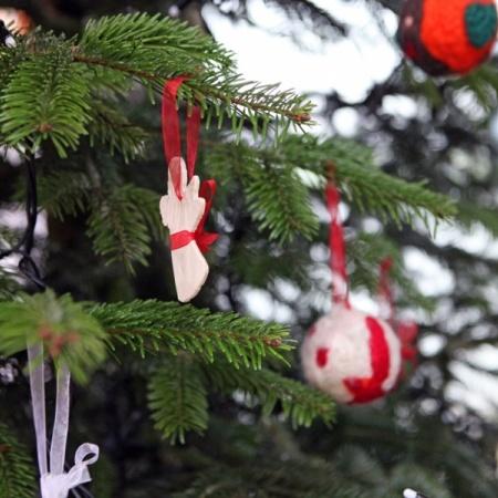 Weihnachtsbaumschmücken 2013