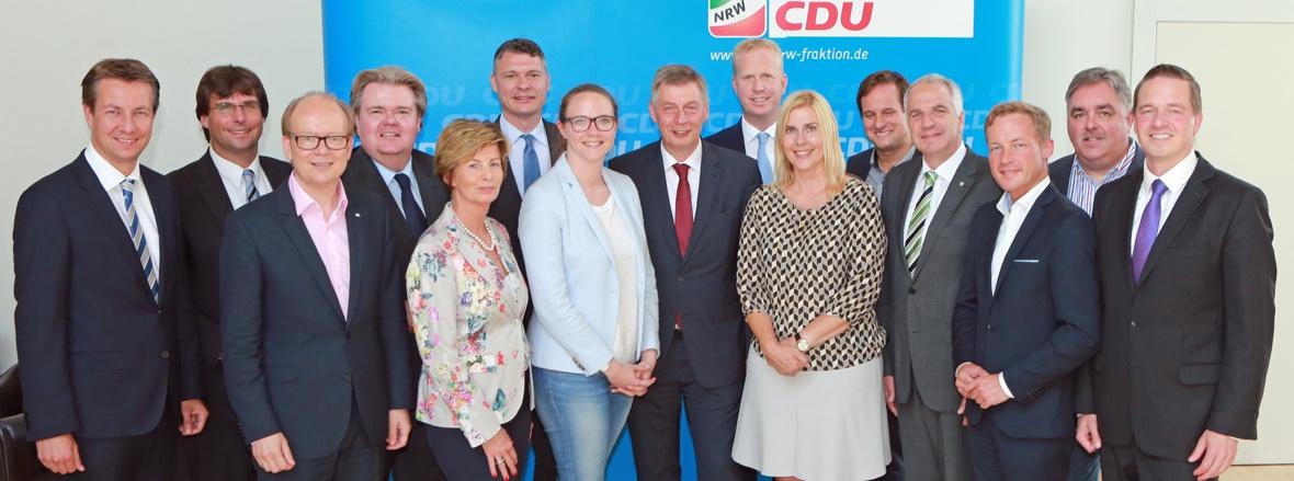 CDU-Landtagsfraktion Nordrhein-Westfalen komplettiert neuen Vorstand